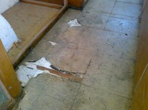 The floor isn't great...